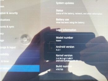 An update to the Motorola XOOM brings a