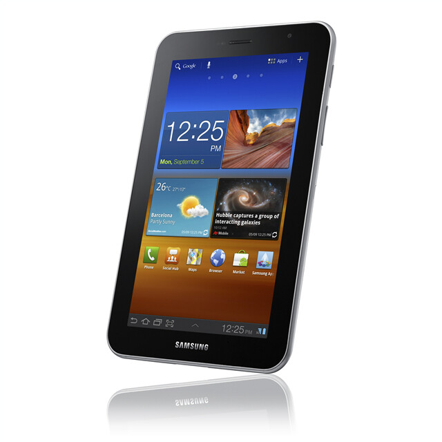 Samsung GALAXY Tab 7.0 Plus - Samsung GALAXY Tab 7.0 Plus breaks cover, runs Honeycomb and sports a 1.2GHz dual-core processor