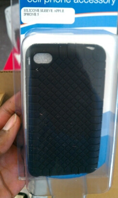 Cases for iPhone 5 surface in AT&T stores