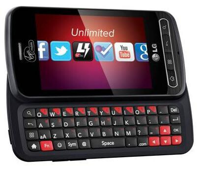 Virgin Mobile makes the LG Optimus Slider official at $199.99 starting on October 17th