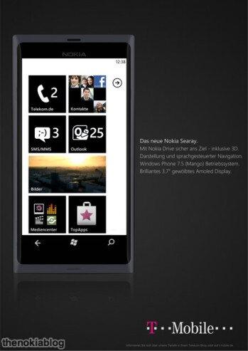 Nokia Sea Ray supposedly final images leak out