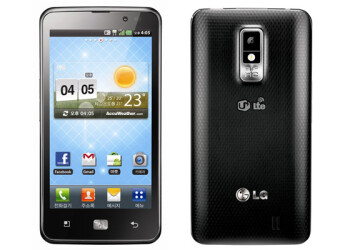 "LG's Optimus LTE monster phone goes official: 4.5"" HD screen and 1.5GHz dual-core CPU"