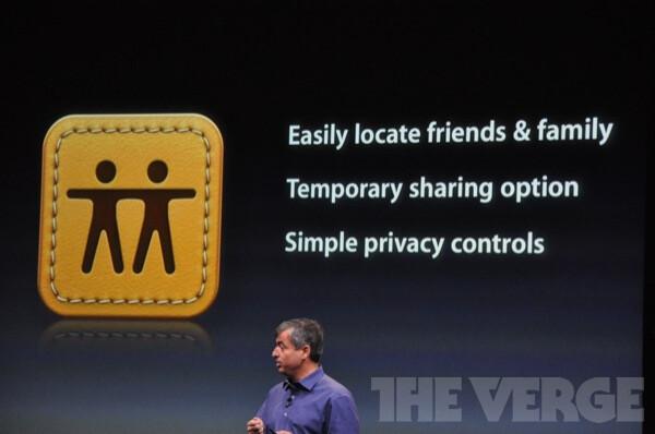 Apple announces Find My Friends app, parents rejoice
