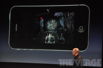 "Infinity Blade 2 unveiled at the Apple event: ""visuals that you've never seen on a mobile device."""