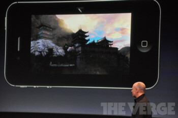 """Infinity Blade 2 unveiled at the Apple event: """"visuals that you've never seen on a mobile device."""""""