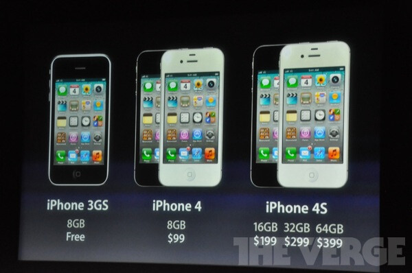 Apple iPhone 4S is finally announced!