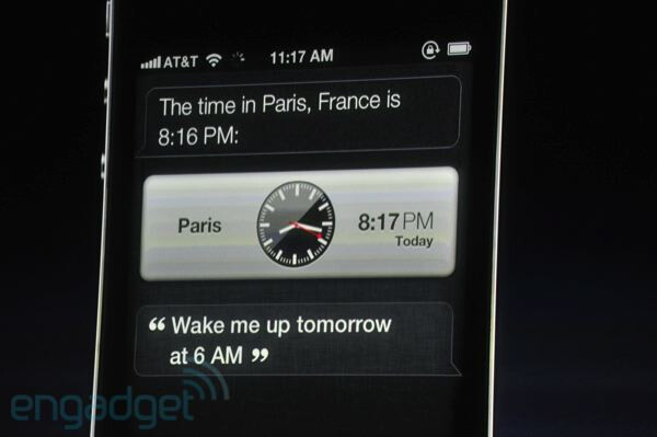 "The all-new voice command feature ""Siri"" - Apple iPhone 4S is finally announced!"