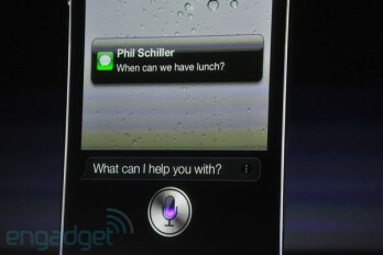 """iPhone 4S comes with """"world changing"""" voice recognition from Siri"""
