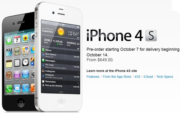 iphone 5 without contract no contract pricing for the apple iphone 4s is revealed 14624