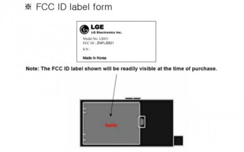 FCC filing reveals that the LG LS831 is a CDMA Windows Phone Mango device