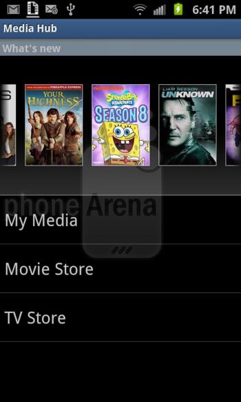 Samsung Media Hub hands-on
