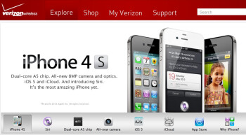 Verizon will be taking iPhone 4S pre-orders starting tomorrow