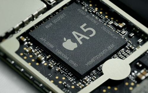 The A5 chip expected to be used in the Apple iPhone 4S - TSMC and Apple talking A6 chips