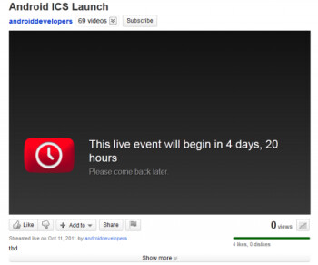 Teaser video suggests Android ICS launch date