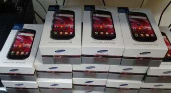 Boxes of the Samsung Galaxy S II make it to T-Mobile stores