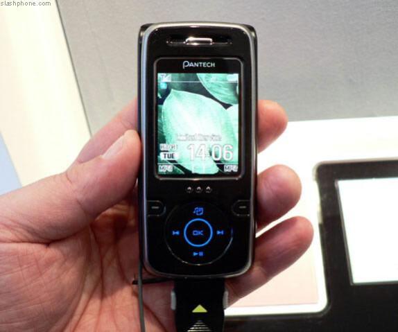 Pantech  introduces an iPod MP3 phone - G-3600V