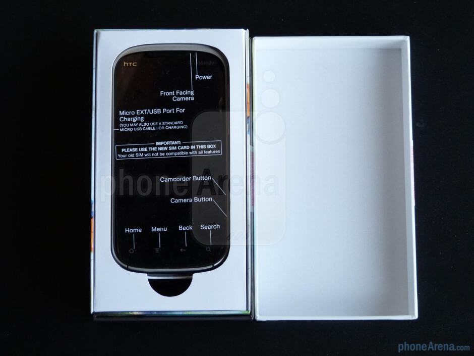 HTC Amaze 4G unboxing and hands-on