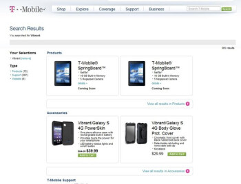 """T-Mobile's site reveals details and press images of the upcoming T-Mobile Huawei """"Springboard"""""""