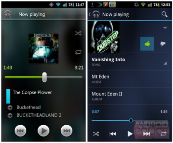 Google Music 4.0.1 leaks out: heralds the new Android looks