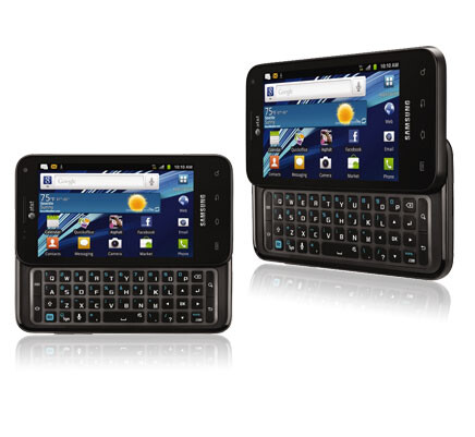 Captivate Glide - AT&T introduces the Motorola ATRIX 2, the Samsung Captivate Glide and 3 other Android phones