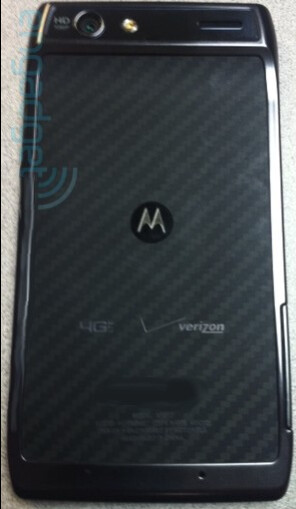 The Motorola DROID RAZR (L, LC) and the Motorola XOOM 2 (RC, R)