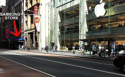 Samsung one-ups Apple iPhone 4S launch in Sydney with $2 Galaxy S II phones, sees people camping