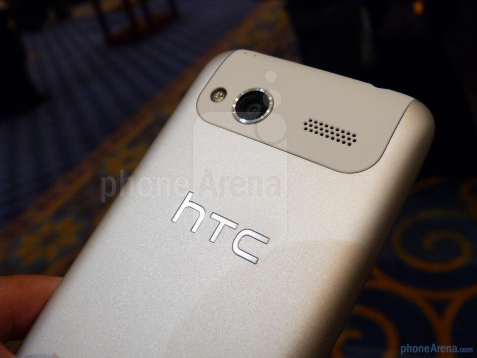 The HTC Radar 4G is a camera centric device thanks to the 5-megapixel auto-focus camera with LED flash - HTC Radar 4G Hands-on