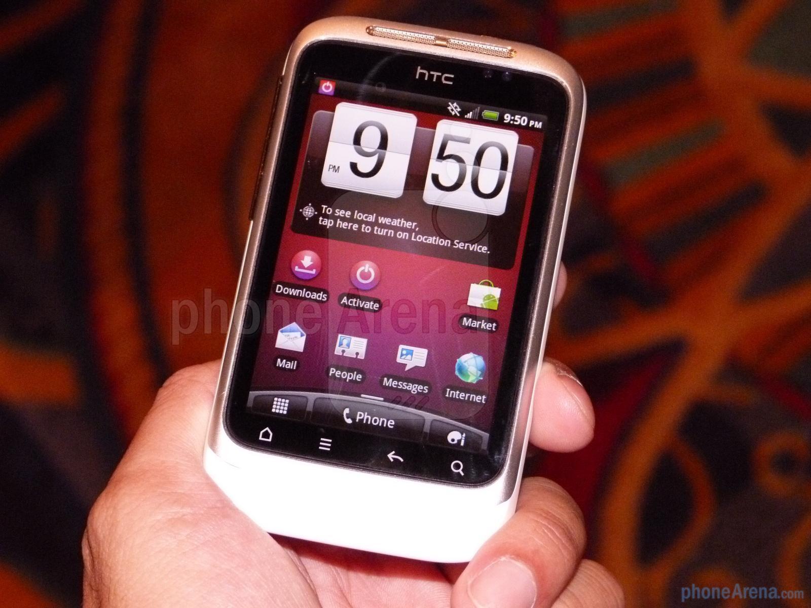HTC Wildfire S CDMA Video clips - PhoneArena