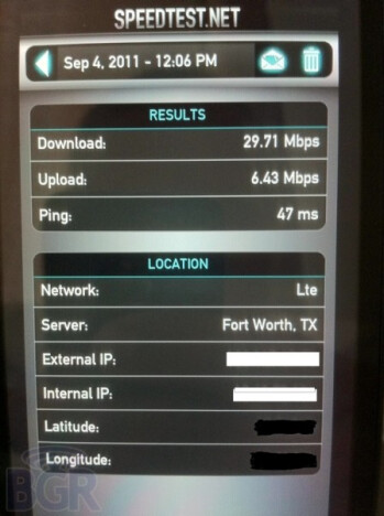 HTC Holiday on AT&T's LTE network