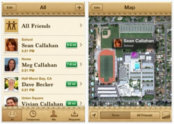 Find My Friends hits the App Store