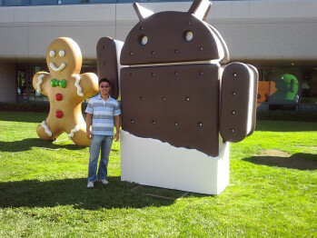 Pictures allegedly taken with the Samsung Galaxy Nexus