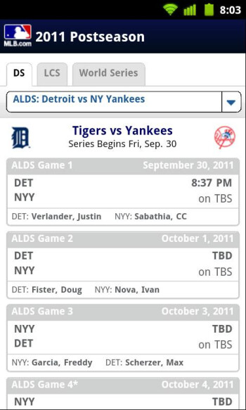 Follow the rest of baseball's postseason with the At Bat 11 app, now just 99 cents