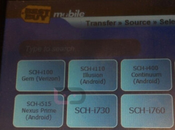 The Google Nexus Prime now appears on Best Buy's Cellebrite system
