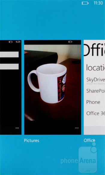 The task switcher in Windows Phone 7.5 Mango