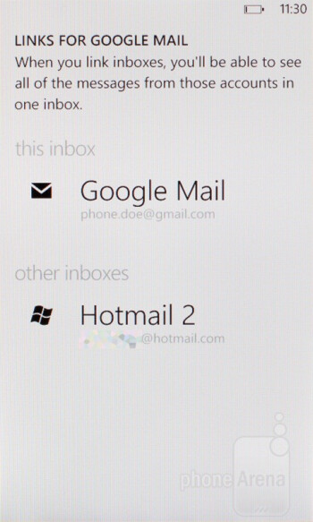 The E-mail client