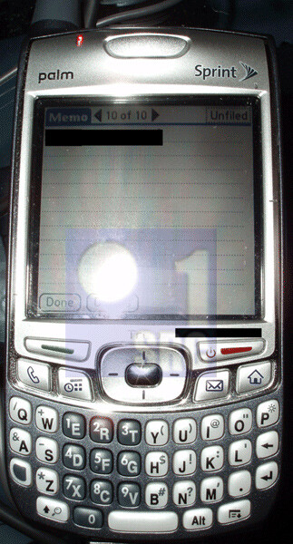 Palm Treo 700p to be released on 28th May?