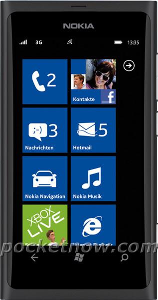 Press photos of Nokia 800 leak