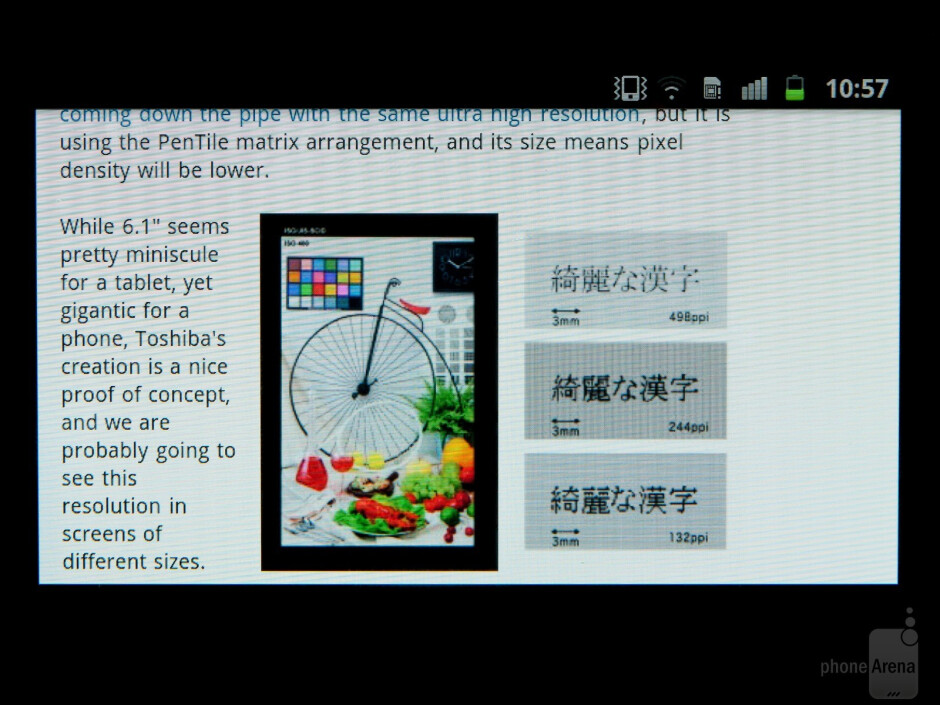Samsung Galaxy Note and Galaxy Nexus sport HD Super AMOLED - is the PenTile matrix bad for you?