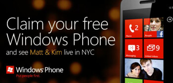 If you have Klout-and clout, you might have won a free Windows Phone