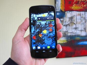Samsung Galaxy Nexus Hands-on