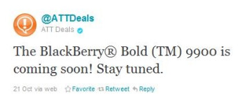 The BlackBerry Bold 9900 is