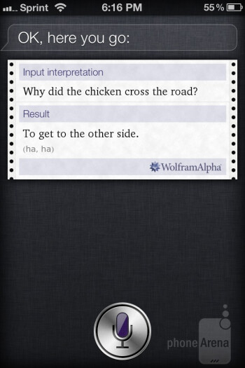 "Siri is intelligent enough to retrieve information when we say things like, ""what's the weather like tomorrow in New York City?"""