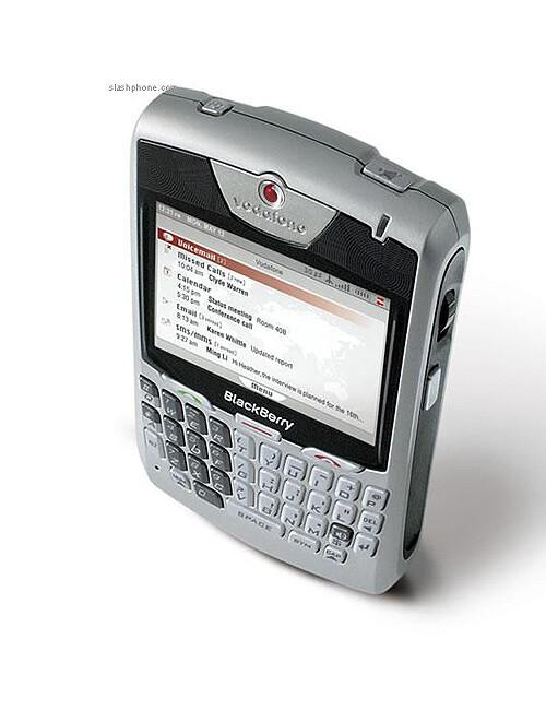 The first Blackberry UMTS handset – 8707v revealed
