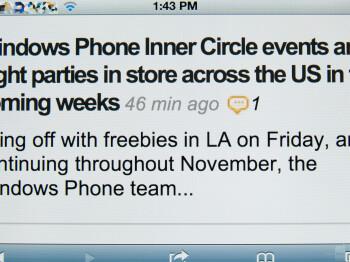Retina Display on iPhone 4