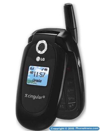 LG CG225 clamshell for Cingular unveiled