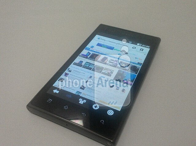The LG Prada K2 is expected to be powered by Android 2.3 - Pictures of LG Prada K2 leak; design still in flux