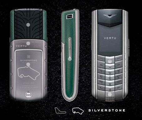 Vertu unveils the first two handsets from its Racetracks Legend series