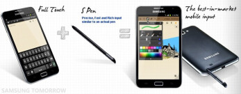 The Samsung GALAXY Note will launch October 29th in Germany
