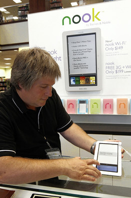 The Barnes and Noble Nook Color