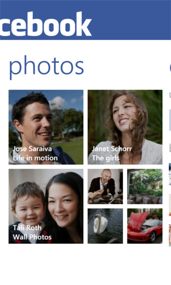 Official Facebook app gets an update for Windows Phone Mango